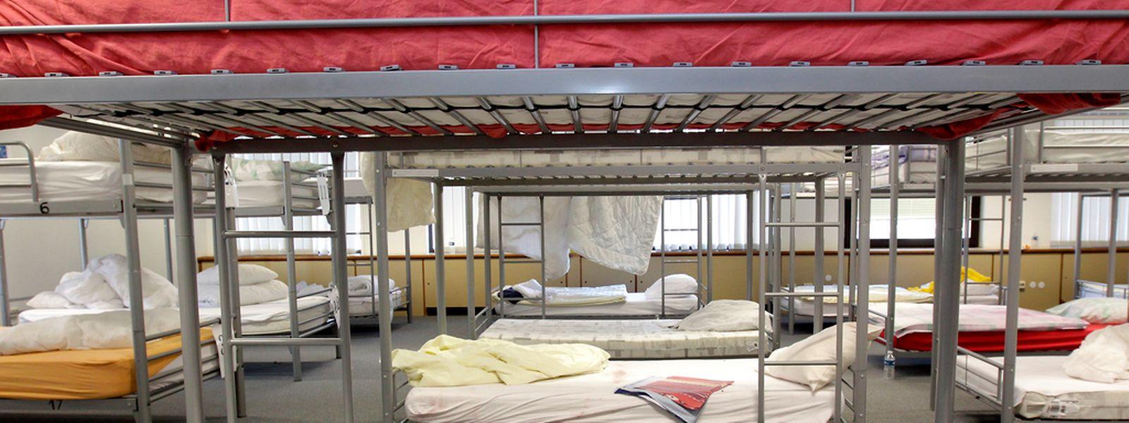 160 Betten plus drei Familienzimmer stehen in der Winteraktion in Findel bereit.