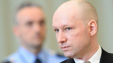 Breivik auf einer Aufnahme aus dem Jahr 2015.