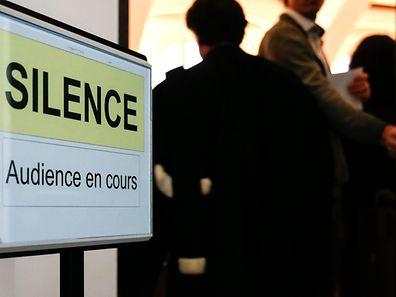 Procès affaire corruption autorisations de commerce affaire Lieffrig, Luxembourg, le 27 Fevrier 2017. Photo: Chris Karaba