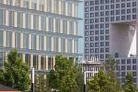 Wirtschaft, Veränderungen am Büroimmobilienmarkt, Bürogebäude, Cloche d'or, Ban de Gasperich, Foto: Lex Kleren/Luxemburger Wort