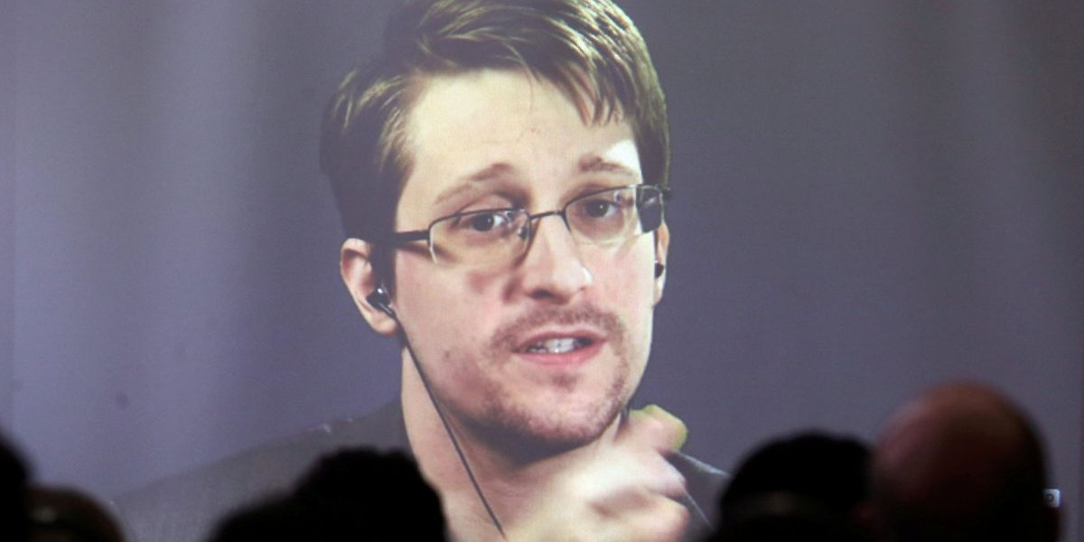 Edward Snowden lebt an einem geheimen Ort in Russland.