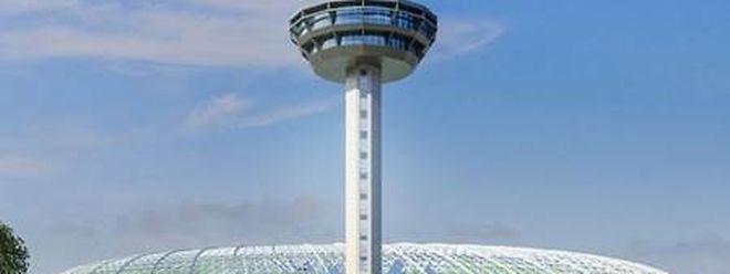 Der Changi Flughafen in Singapur gehört zu den modernsten der Welt.