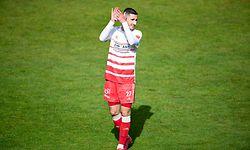 Zachary Hadji (Fola 27) / Fussball, Nationaldivision, Fola - Differdingen / 22.05.2021 / Esch-Alzette / Foto: Christian Kemp