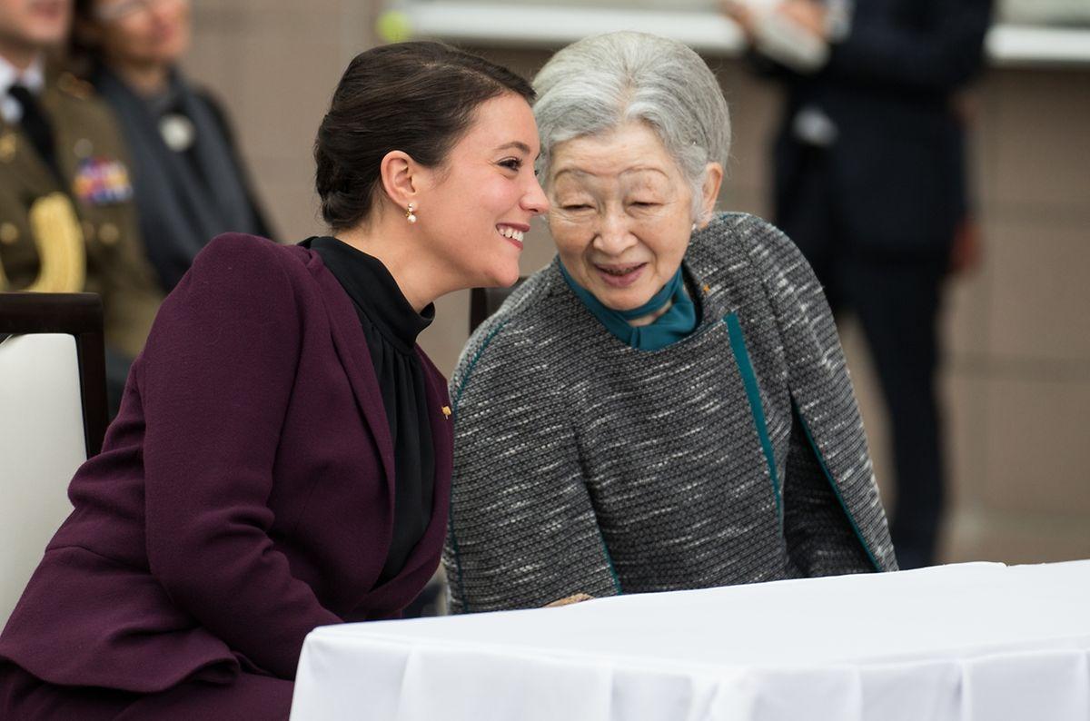 Großherzog Henri ist stolz über den Auftritt seiner Tochter, Prinzessin Alexandra, in Japan. Sie habe ihre Mutter hervorragend vertreten, so das Luxemburger Staatsoberhaupt.