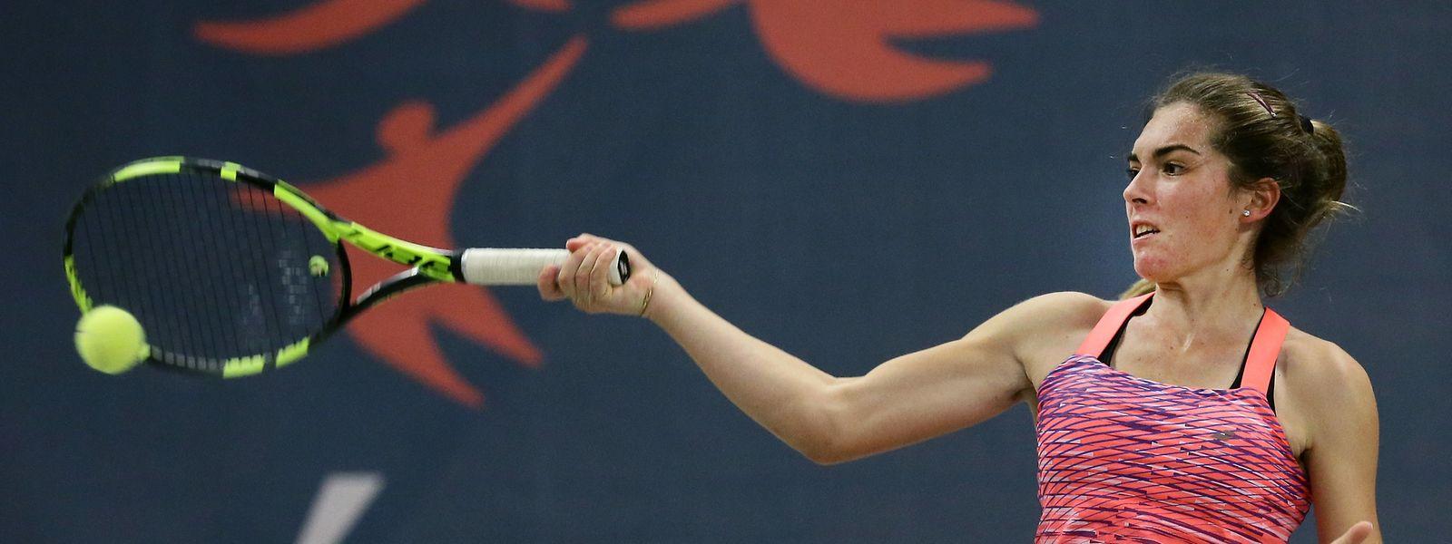 Eléonora Molinaro steht zurzeit auf Rang 438 der Weltrangliste.