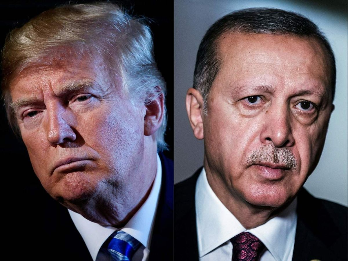 Trump und Erdogan sind sich derzeit alles andere als gut gesinnt.
