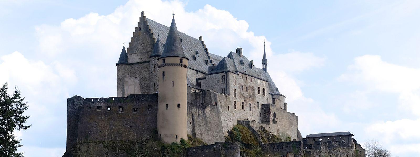 Das Schloss von Vianden ist einen Ausflug wert.