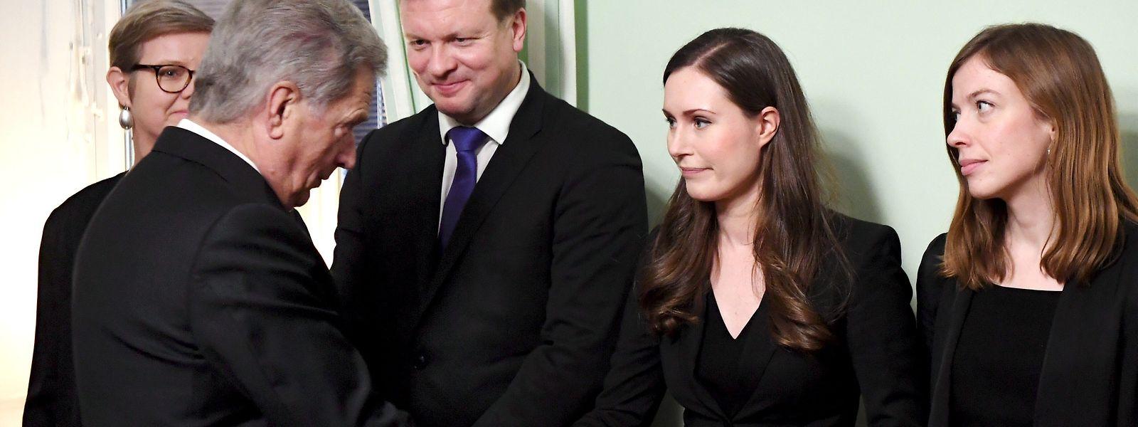 Âgée de 34 ans, Sanna Marin a été officiellement nommée Premier ministre de Finlande ce mardi.