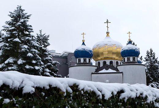 L'église orthodoxe russe est située rue Probst à Luxembourg-ville