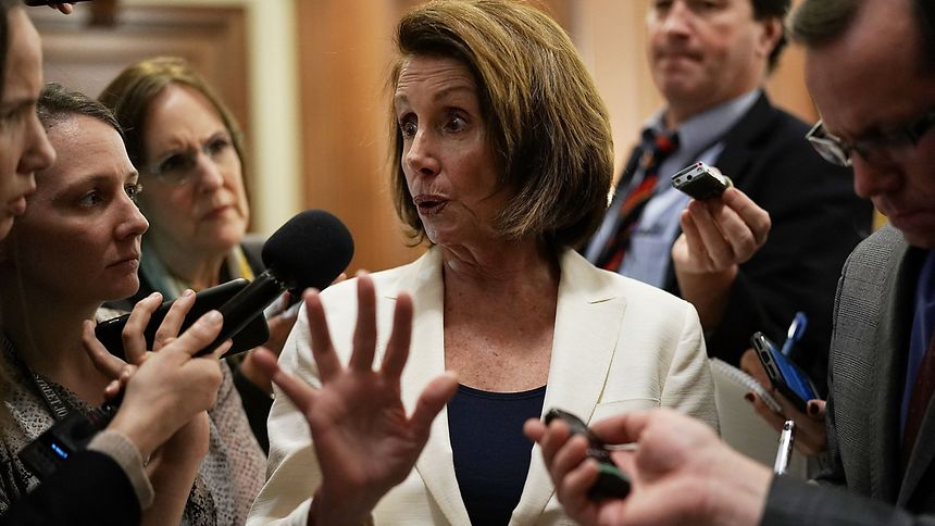 Pelosi hält Rekordrede vor US-Repräsentantenhaus