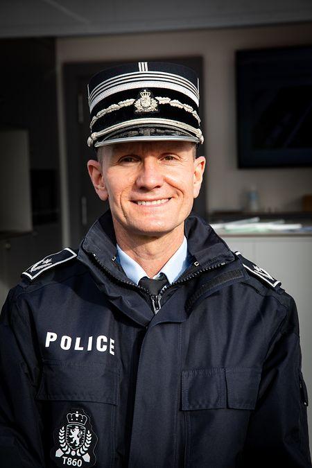 Pascal Peters ist Zentraldirektor der Police administrative.