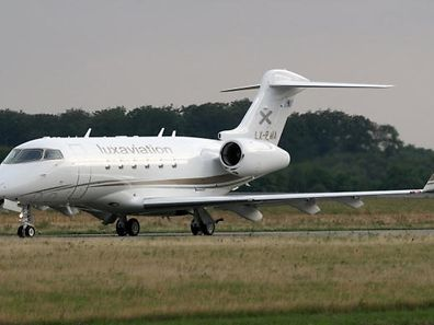 Luxaviation has grown to become a major player in the realm of business aviation. Pictured -  Challenger 300 aircraft