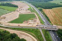 La nouvelle ligne Luxembourg-Bettembourg longera l'A3 jusqu'à hauteur de l'Aire de Berchem avant de bifurquer vers Bettembourg.