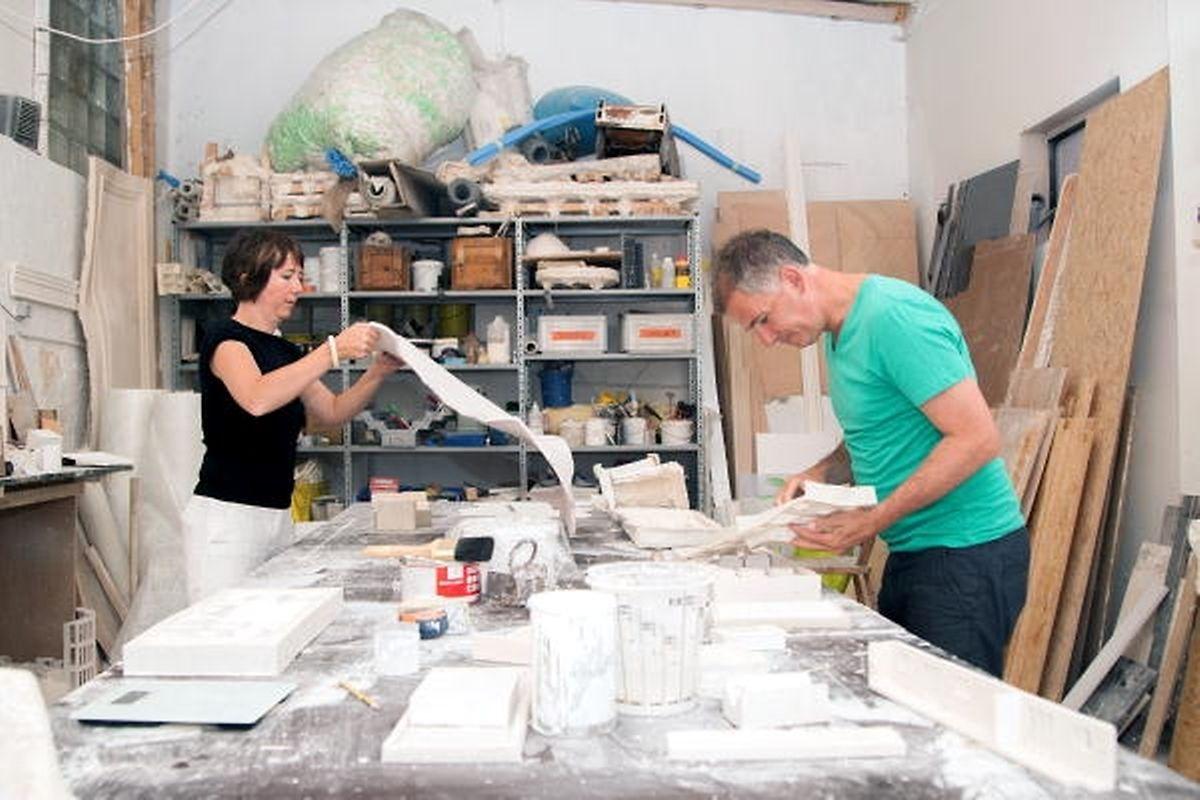 Martine Feipel et Jean Bechameil quitteront leur atelier eschois pour s'installer à... Esch-Belval.