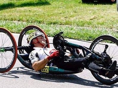 A la faveur d'une wild card, Lucianio Fratini participera à l'épreuve de handbike à Rio.