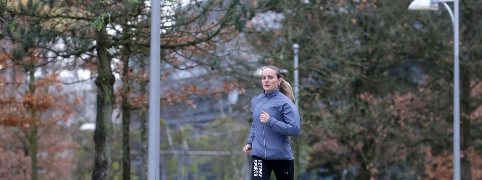 Die Leichtathletik ist die alte Liebe von Liz May.