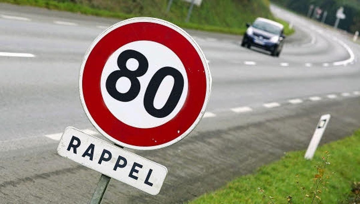 La vitesse va être réduite de 10km/h.