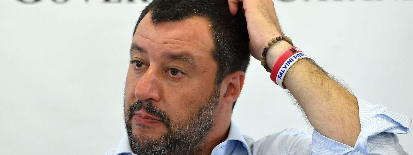 Matteo Salvini se voit doper par le bon score de la Ligue aux élections européennes.