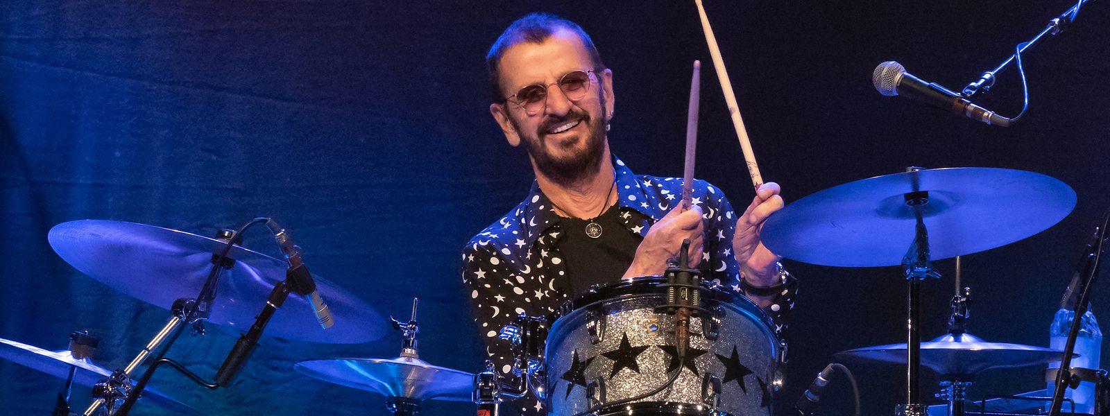 Ringo Starr gastierte mit seiner All-Starr-Band am 4. Juli 2018 in der Escher Rockhal