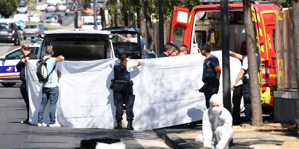 Bei dem Zwischenfall starb eine Passantin.
