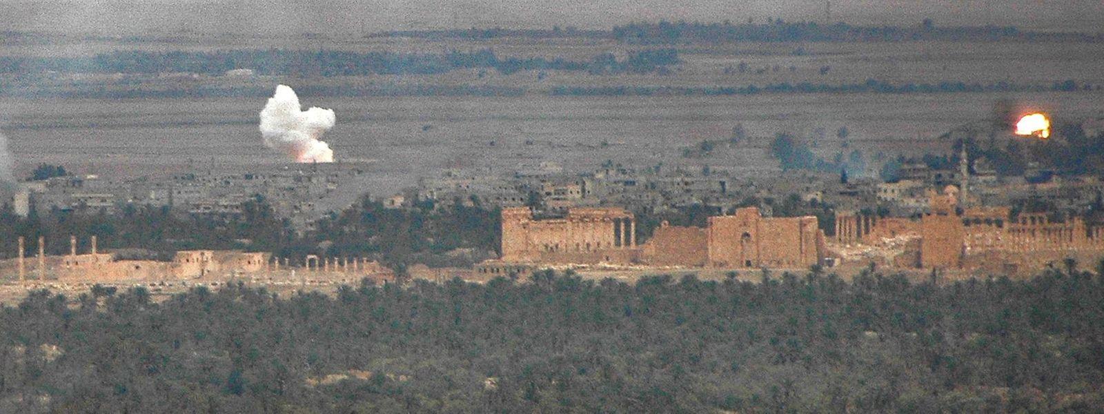 Harter und langer Kampf für die Rückeroberung der antiken Wüstenstadt.