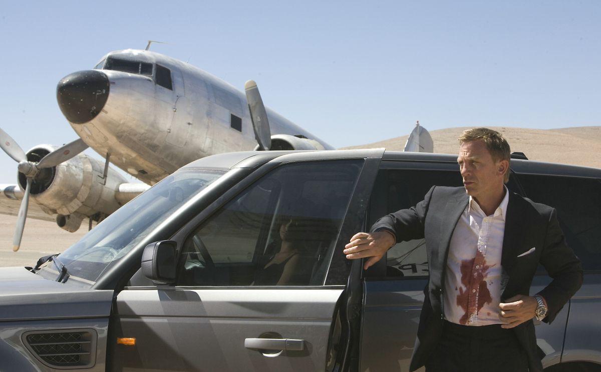 """Daniel Craig als James Bond in """"Spectre"""", dem 24. Film aus der James-Bond-Filmreihe und der vierte Film mit Daniel Craig in der Titelrolle."""