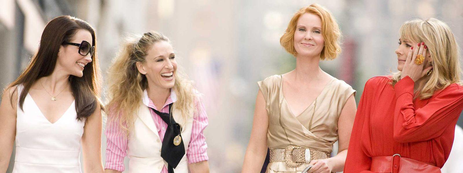 """En plus de 100 ans de films de la Warner, HBO Max proposera ses séries légendaires comme """"Sex and the city""""."""