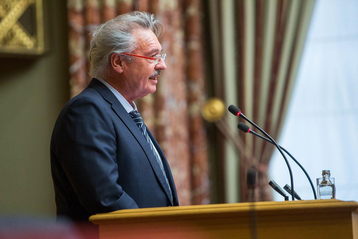 Außenminister Jean Asselborn stellte die EU in den Mittelpunkt seiner Rede vor dem Parlament.