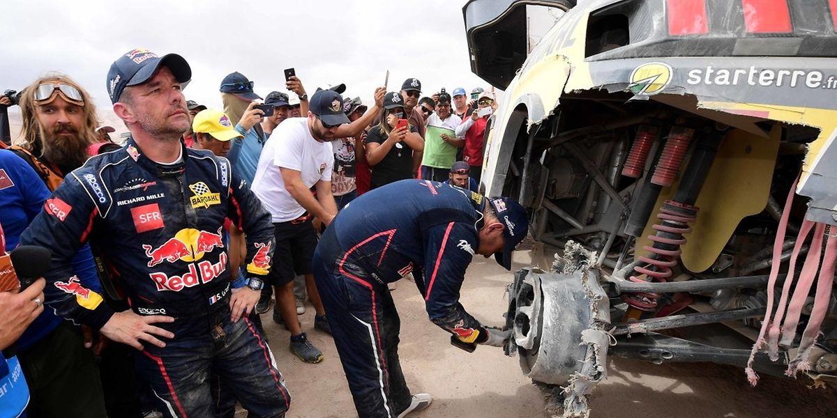 Après les problèmes rencontrés jeudi, Sébastien Loeb s'est imposé ce vendredi.
