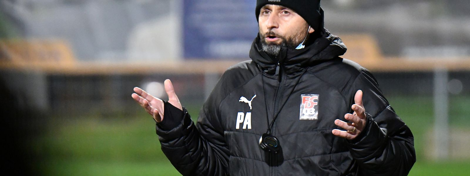 Paolo Amodio stand zwei Jahre in Differdingen in der Verantwortung.