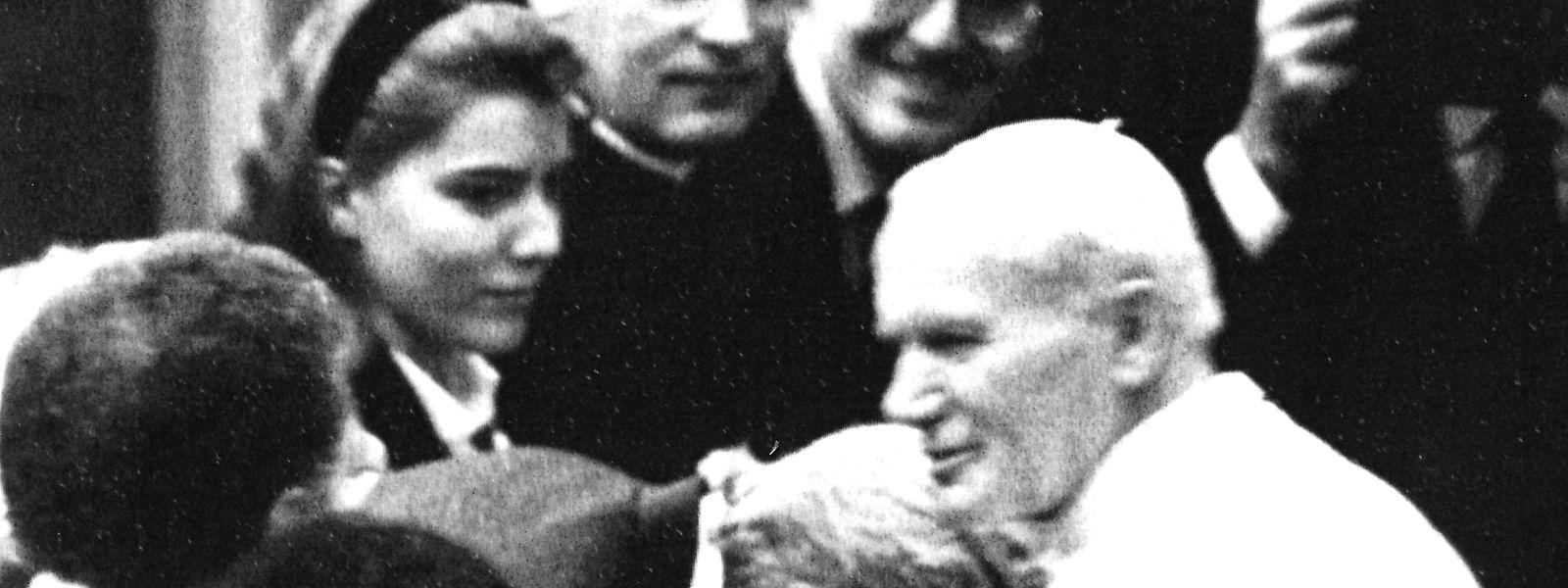 Papst Johannes Paul II. begeisterte die Menschenmassen.