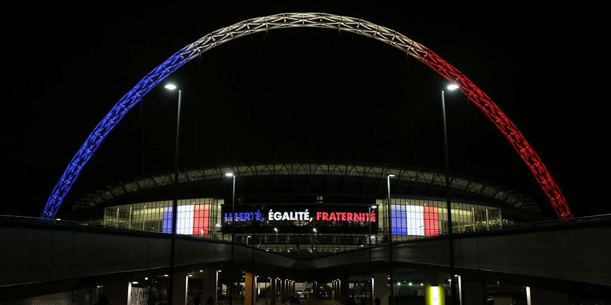 Le stade londonien aux couleurs de la France