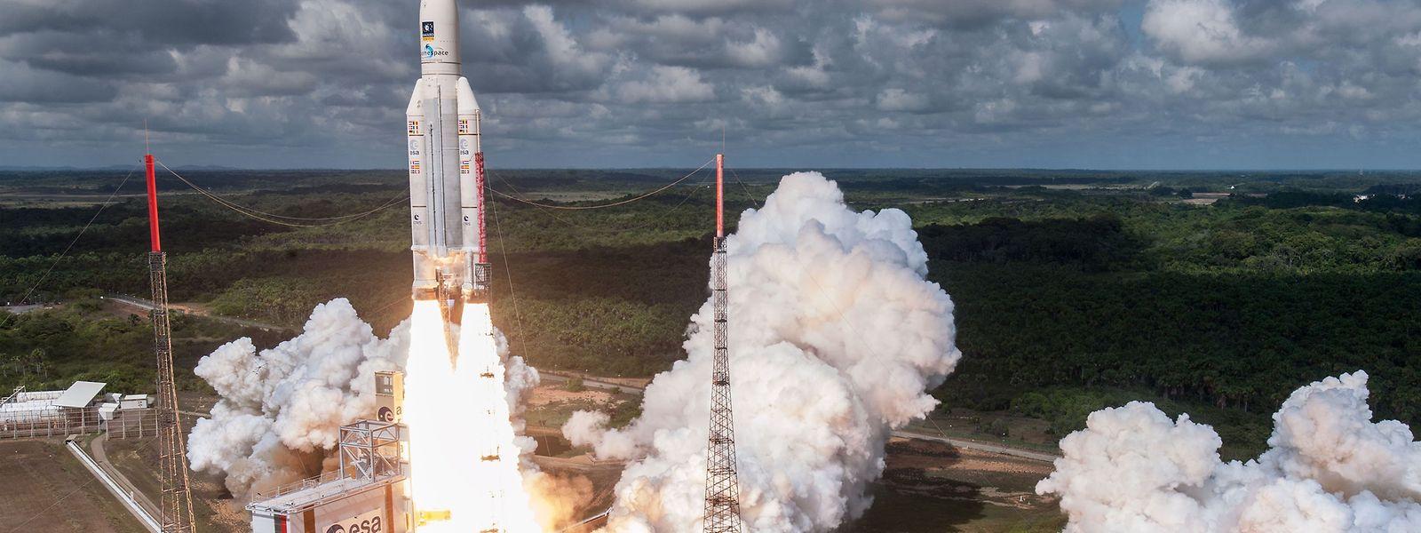 Les Européens se sont fait un nom dans le lancement de satellites, avec le soutien financier grandissant du Grand-Duché.
