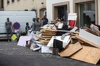 Lokales,grossherzog besucht Echternach nach der !uberschwemmungskatastrophe. Foto: Gerry Huberty/Luxemburger Wort