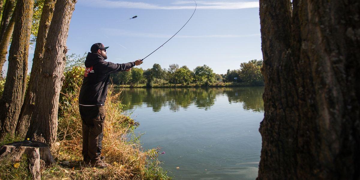 Es gibt immer weniger Orte an der Mosel, an denen die Fischer noch ihrer Freizeitbeschäftigung nachgehen können.