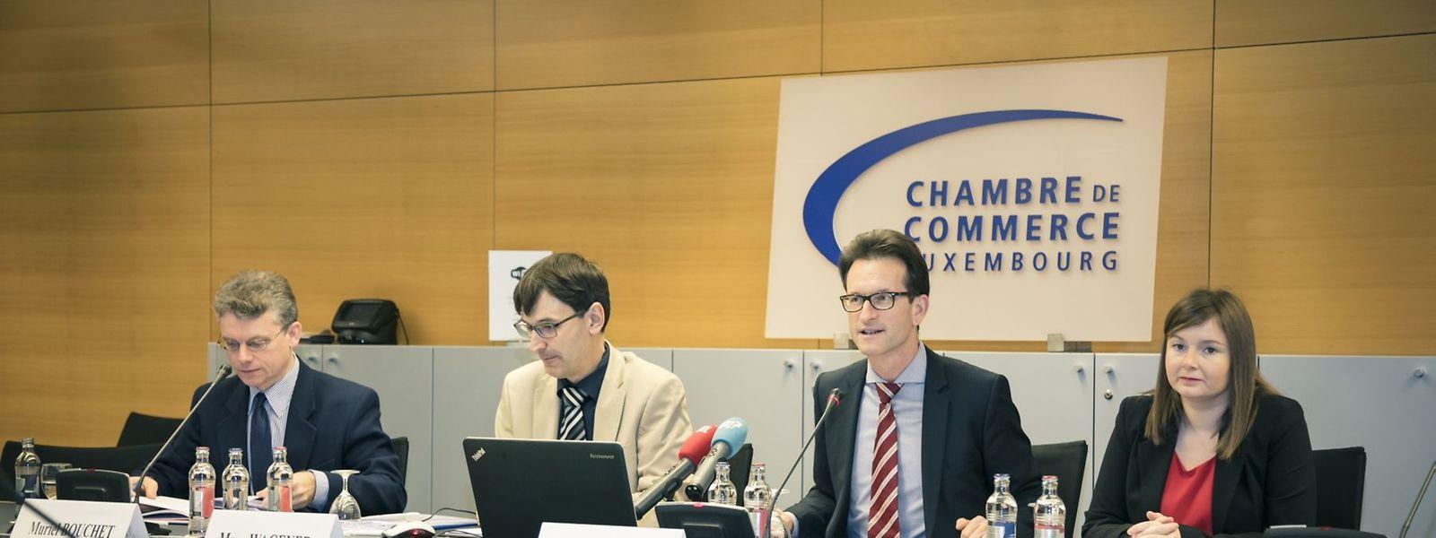 Carlo Thelen und Marc Wagener forderten Finanzminister  Pierre Gramegna auf, den Haushaltsentwurf transparenter zu gestalten.