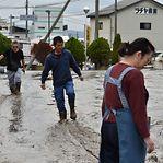 Fotogaleria. Pelo menos 42 mortos e 200 feridos no Japão na sequência do tufão Hagibis