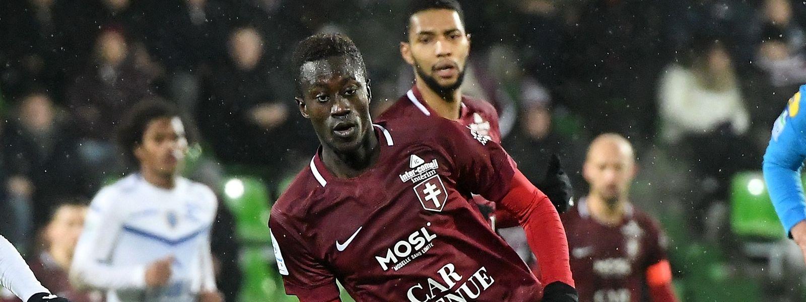 Ibrahima Niane a offert un but précieux aux Grenats ce lundi soir.