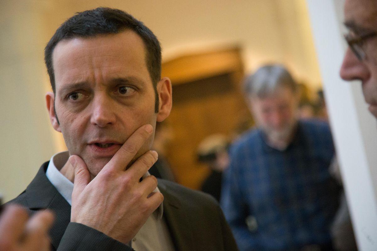 O jornalista Edouard Perrin que divulgou o caso no canal France 2.