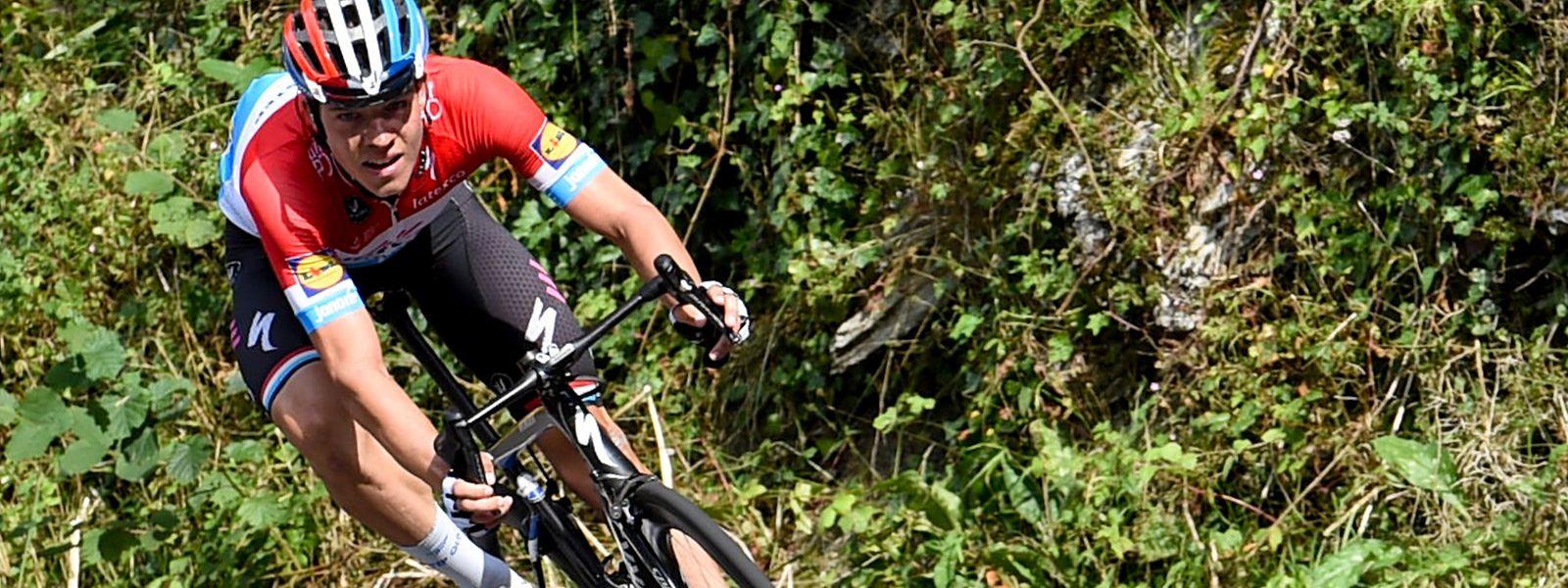 Bob Jungels zeigt sich bei der Tour of Britain in starker Form.