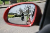 Motorrad,Motorradfahrer,Strassenverkehr,Foto:Gerry Huberty