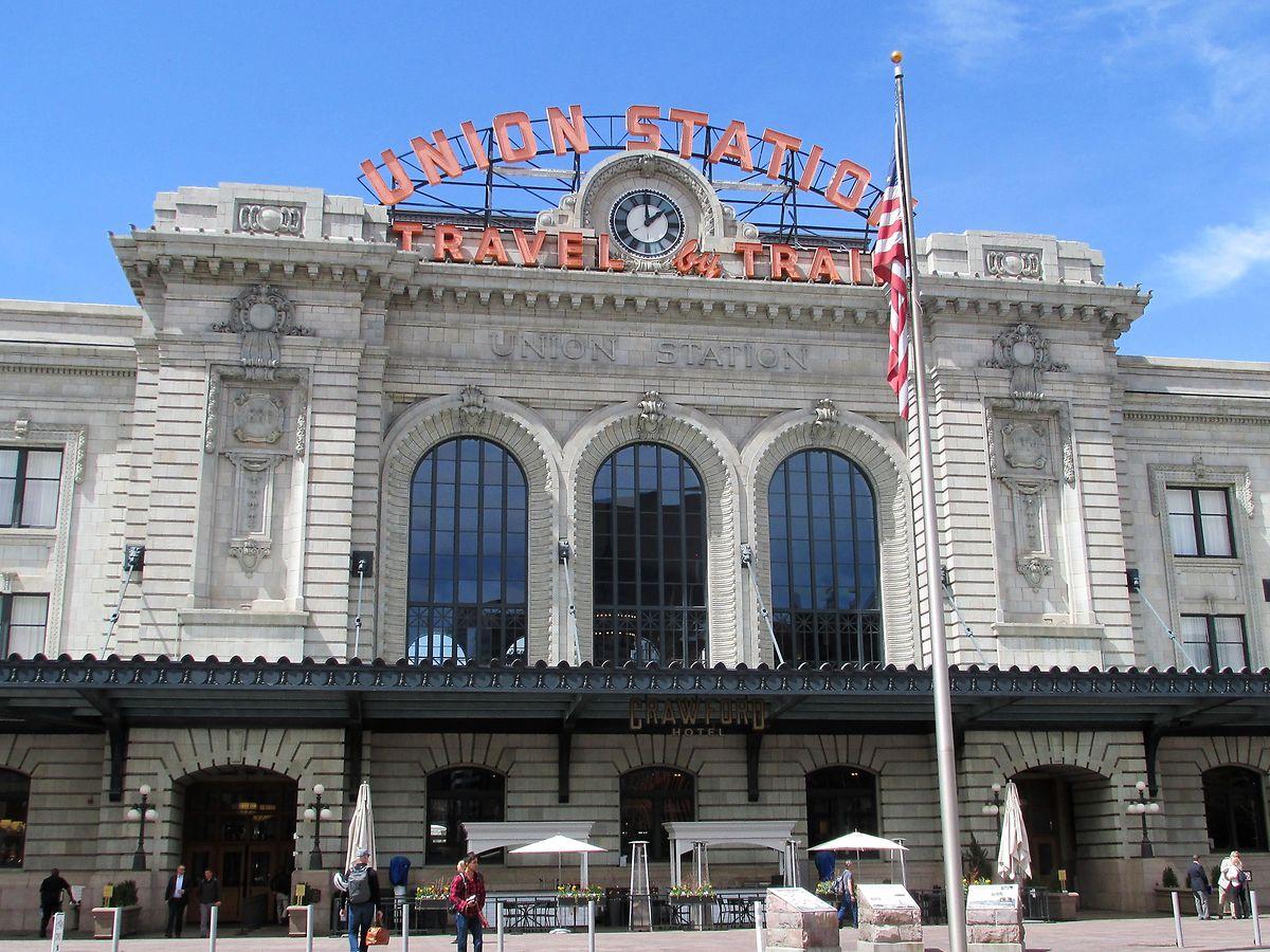 Die Union Station in Denver ist ein wuchtiger Prachtbau im romanischen Stil.