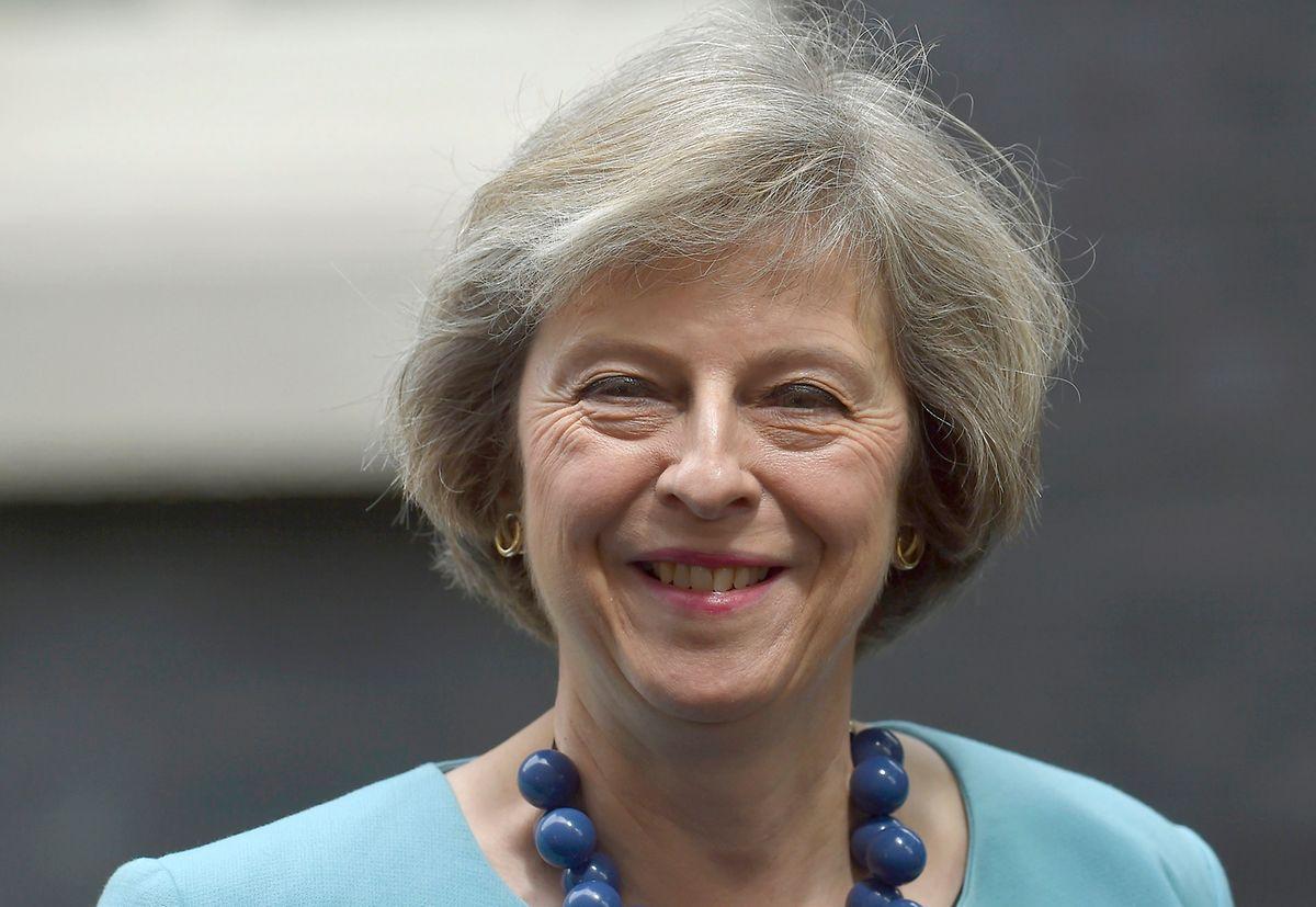 Innenministerin Theresa May hat gute Chancen im Rennen um die Downing Street.