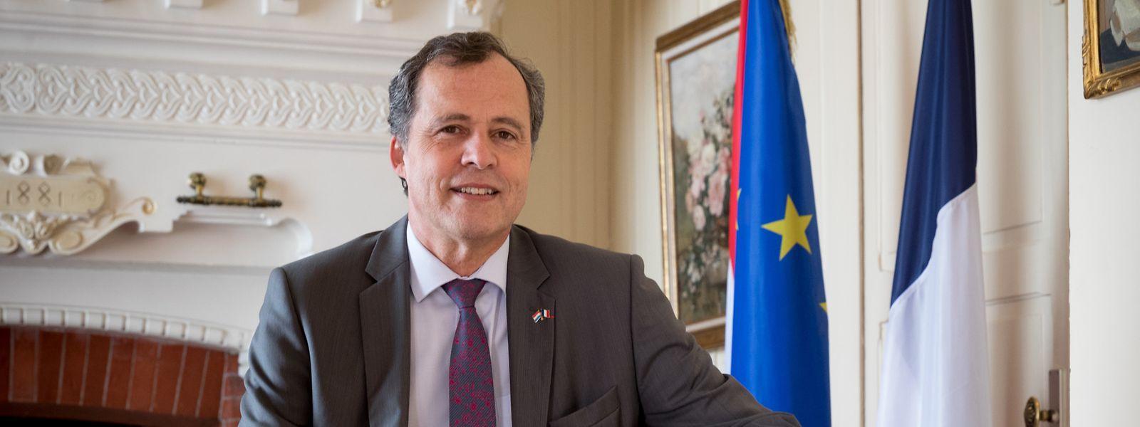 L'ambassadeur de France, Bruno Perdu, est en poste depuis deux ans.
