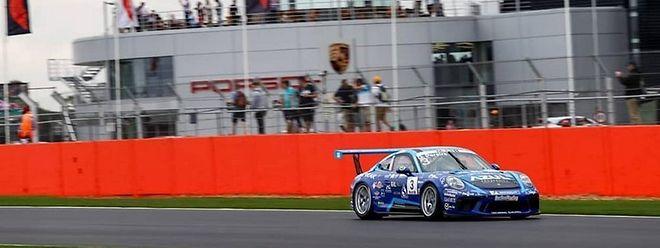 Dylan Peirera a terminé à la douzième place à Silverstone.