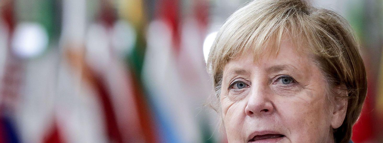 Für Bundeskanzlerin Angela Merkel gehen die jüngsten Corona-Beschlüsse nicht weit genug.