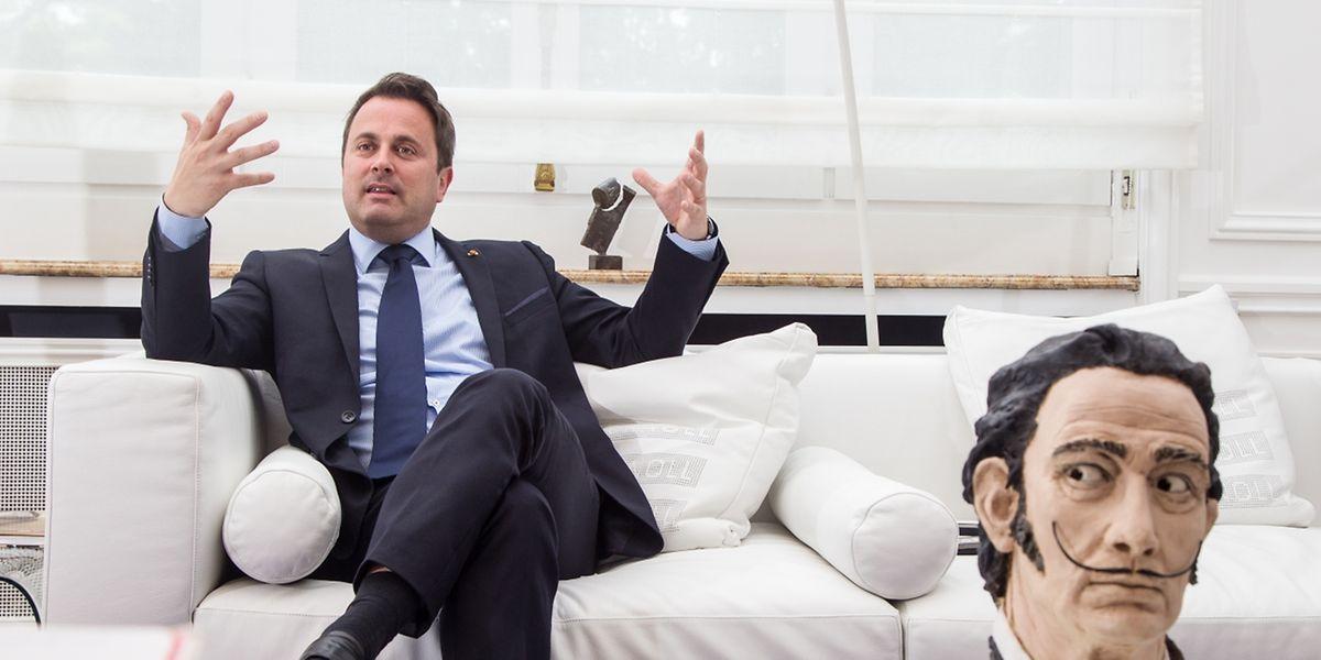 """Xavier Bettel: """"Les Assises culturelles sont un rendez-vous à ne pas manquer""""."""