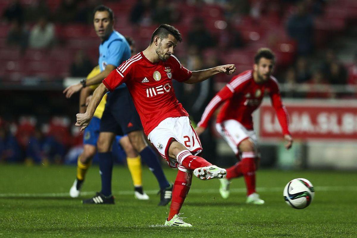 Pizzi marcou um dos golos do Benfica de grande penalidade