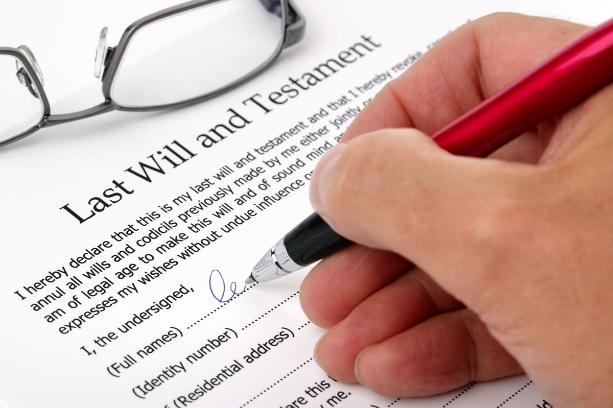 You can make a will in your country of residence or your country of citizenship or both if you have assets in both countries. Photo: Shutterstock