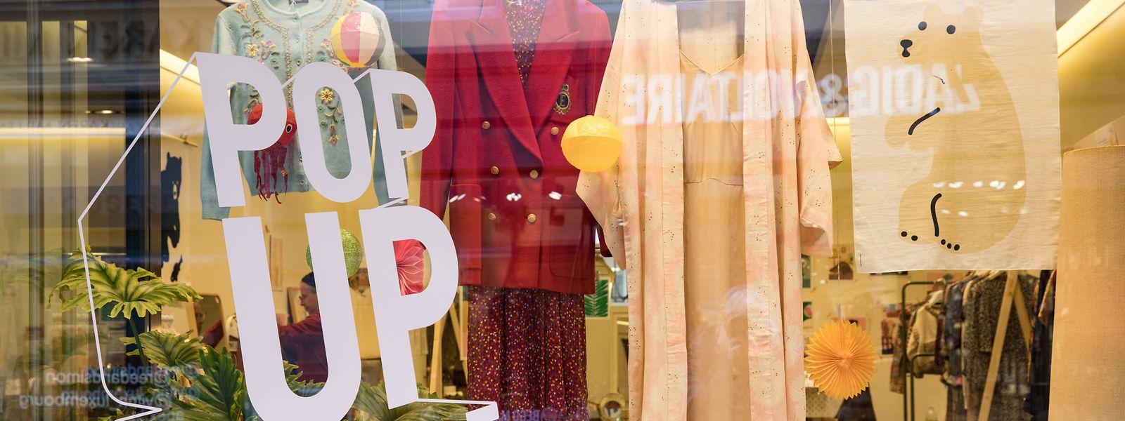 In der Hauptstadt öffnen immer mehr sogenannte Pop-up-Stores ihre Türen.